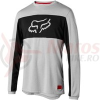 Bluza Fox Ranger DR Foxhead LS jersey stl gry