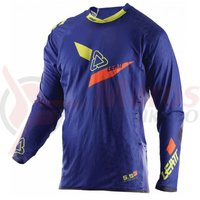 Bluza Leatt Jersey GPX 5.5 Ultraweld blue/lime