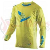 Bluza Leatt Jersey GPX 5.5 Ultraweld lime/blue