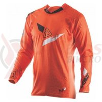 Bluza Leatt Jersey GPX 5.5 Ultraweld orange/black