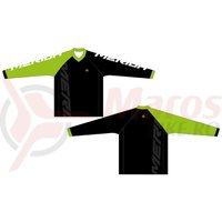 Bluza Merida F43 Freeride green/white/black