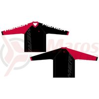 Bluza Merida F45 Freeride red/white/black