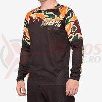 Bluza R-Core Jersey Warm Black/Camo
