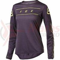 Bluza Wmns Flexair LS jersey [drk pur]