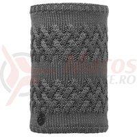 Buff Neckwarmer AD Knitted&Polar Savva Grey Castlerock