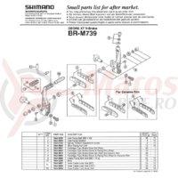 Burduf Shimano BR-M739