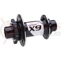 Butuc fata Sram X.9 disc 32h bolt-on 20 2 rulmenti