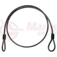 Cablu antifurt Cube Spiral Lock Extra 10x1800 mm negru