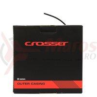 Camasa cablu schimbator Crosser Sp 5mm - rola 30m - negru