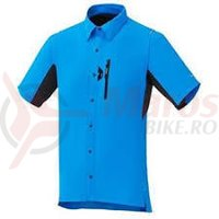 Camasa Shimano button up lightning blue