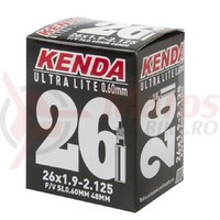 Camera Kenda 26x1.9-2.125 Ultra Light 48 mm/FV 120 grame