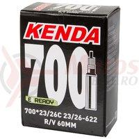 Camera Kenda 700×23-26 C FV-60 mm