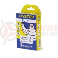 Camera Michelin Airstop A1 700x18/23C presta 52 mm