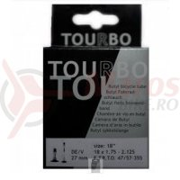 Camere Tourbo - 12″ 12.1/2×1.75-2.1/4 D/V 27mm