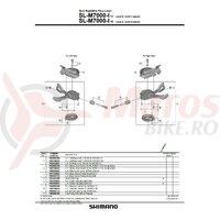 Capac dreapta Shimano SL-M7000-I-11