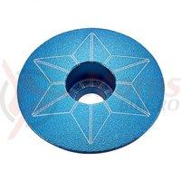 Capac furca Supacaz Star - albastru (anodized)