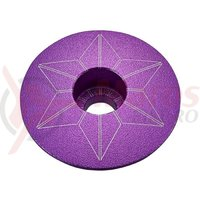 Capac furca Supacaz Star - mov (anodized)