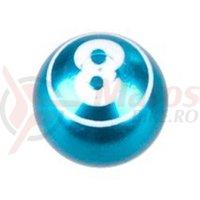 Capac ventil Cox Ball-8 albastru