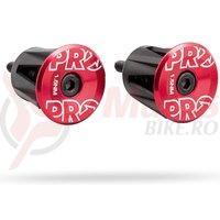 Capace pentru ghidon PRO alloy red