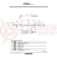 Capat etans Shimano HB-6400