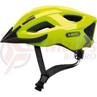 Casca bicicleta Abus Aduro 2.0 Urban neon yellow