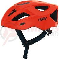 Casca bicicleta Abus Aduro 2.1 shrimp orange