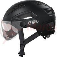 Casca bicicleta Abus Hyban 2.0 Ace negru mat