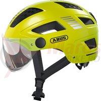 Casca bicicleta Abus Hyban 2.0 Ace signal yellow