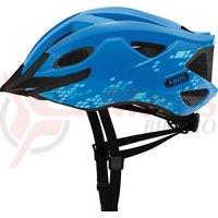 Casca bicicleta Abus S-Cension diamond blue