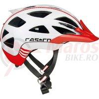 Casca bicicleta Casco Activ 2 alb/rosu