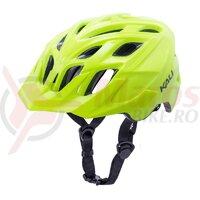 Casca bicicleta Kali Chakra Solo Solid Fluo Yellow 2020
