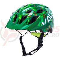 Casca bicicleta Kali Chakra Youth Pixel Gloss Green 2020