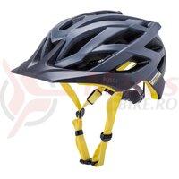 Casca bicicleta Kali Lunati Sync-Matte Navy Yellow 2020