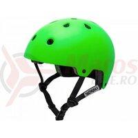 Casca bicicleta Kali Maha Solid HI Vision Green 2017