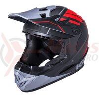 Casca bicicleta Kali Zoka EON Matte Black/Red/Grey 2020
