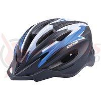 Casca Bike Fun Cobber negru/albastru