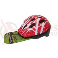Casca Bikeforce Unisex Out-Mold rosu