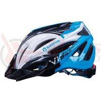 Casca Bikefun Vision albastru/negru/alb