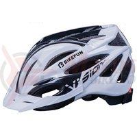 Casca Bikefun Vision negru/alb