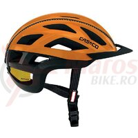 Casca Casco Cuda 2 orange/negru mat