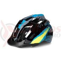 Casca ciclism copii Cube Helmet ANT negru/albastru