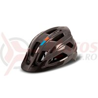 Casca ciclism Cube Helmet Steep Glossy grey/orange