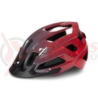 Casca ciclism Cube Helmet Steep gri/rosu