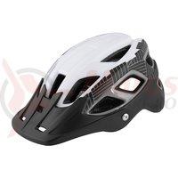 Casca Force Aves MTB E-bike alb-negru mat