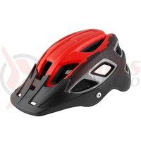 Casca Force Aves MTB E-bike rosu-negru mat