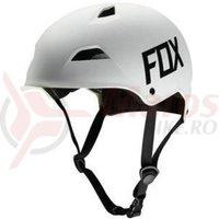 Casca Fox Flight Hardshell Helmet white