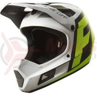 Casca Fox MTB-Helmet Rampage Comp Creo helmet white/yellow