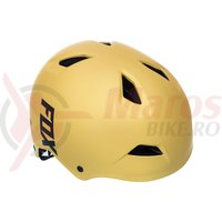 Casca Fox MTB-Helmet Flight Hardshell Helmet matt gold
