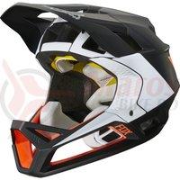 Casca Fox Proframe Helmet Gothik blk/wht/org
