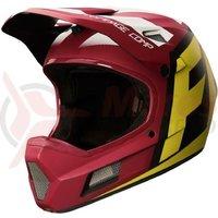 Casca Fox Rampage Comp Creo helmet ylw/blk